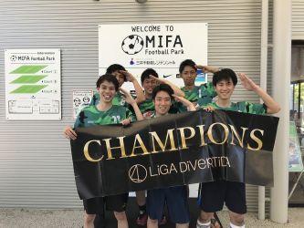 7月15日@MIFA 優勝 進藤JAPAN