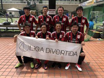 7月16日@日比谷 AC Milan