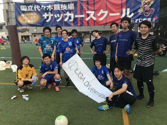 7月14日@代々木 FC MAIDO