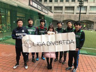 1月12日@日比谷 BOJサッカー部