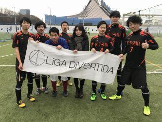 1月12日@代々木 FCスマタクロー