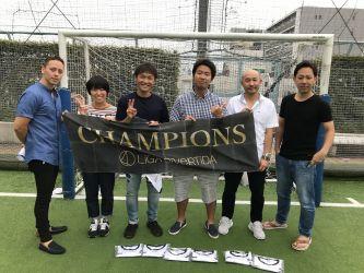 7月6日@錦糸町 優勝 エスタディオ成田FC
