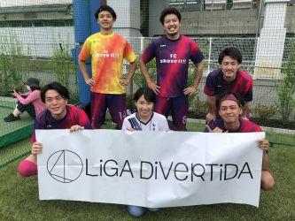 6月27日@スポル品川 FC shove it!!